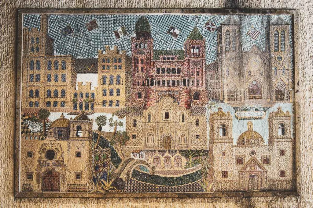 Mosaic of San Antonio